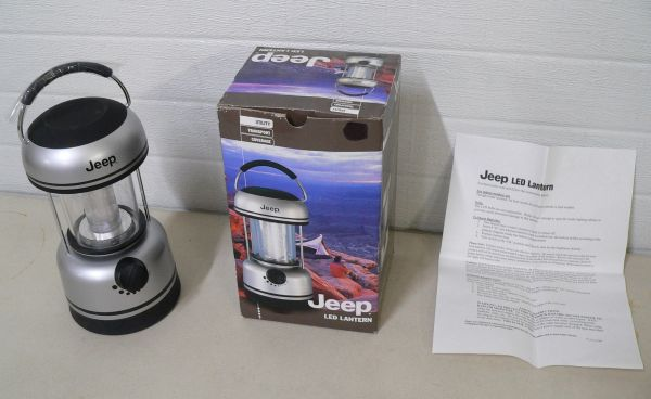 Jeep LED Lantern-Like New