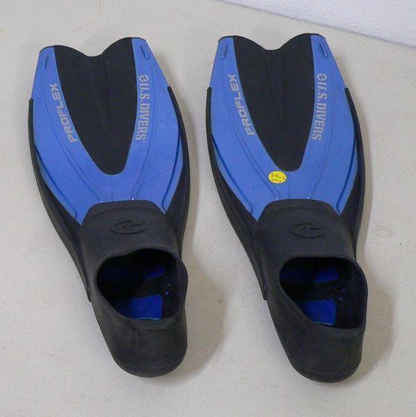 US Divers Proflex Swim Fins-Size 5-6.5