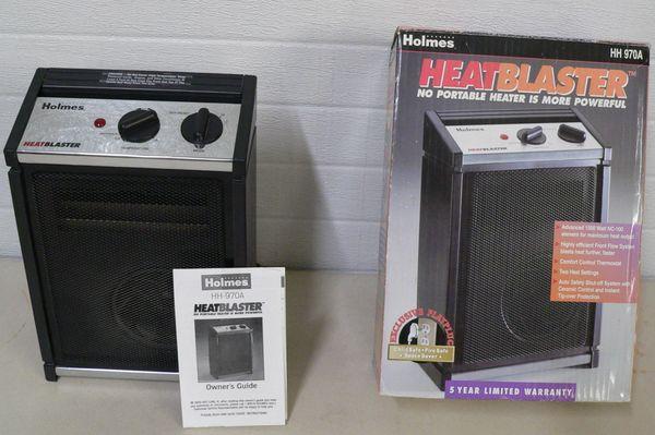 Holmes HH970A HeatBlaster Electric Heater