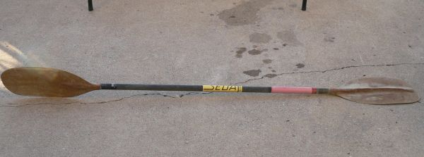 SEDA 7 Foot G Kevlar Graphite Resin Construction Kayak Oar