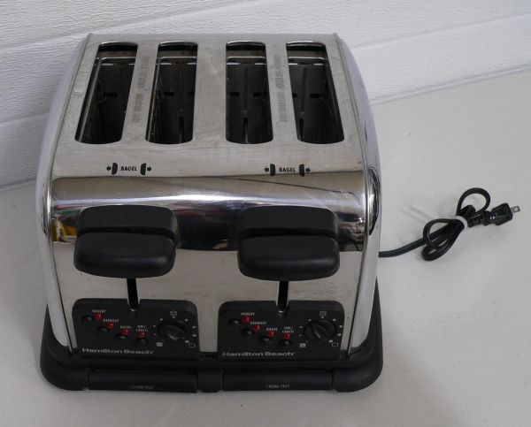 Hamilton Beach 24600 4 Slice Toaster/Bagel