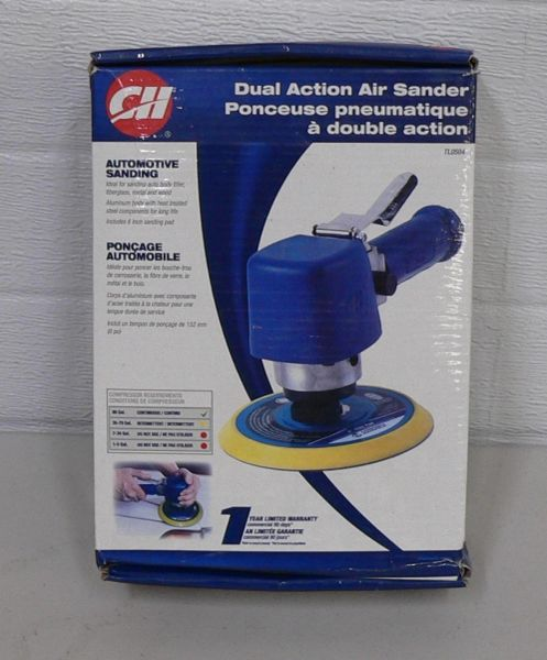 CH TL0504 Dual Action Air Sander-New in box