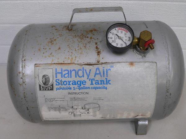 Handy Air Portable 5 Gallon Storage Air Tank