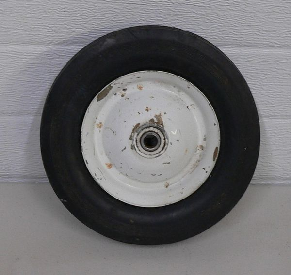 8 x 1.75 Wheel with Hard Rubber Tire