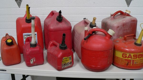 Miscellaneous Gas Cans 1 to 5 Gallons