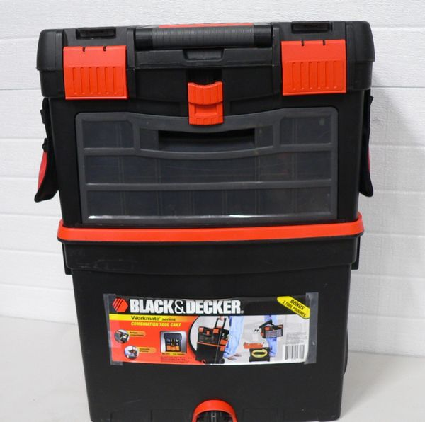 Black and Decker Workmate Series Combination Tool Cart