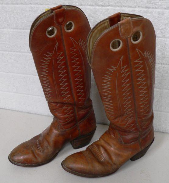 Hondo High Top Cowboy Boots-Size 9-10