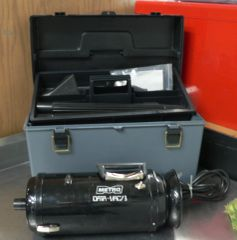 Metropolitan Vacuum MV-3 with Case and Attachments