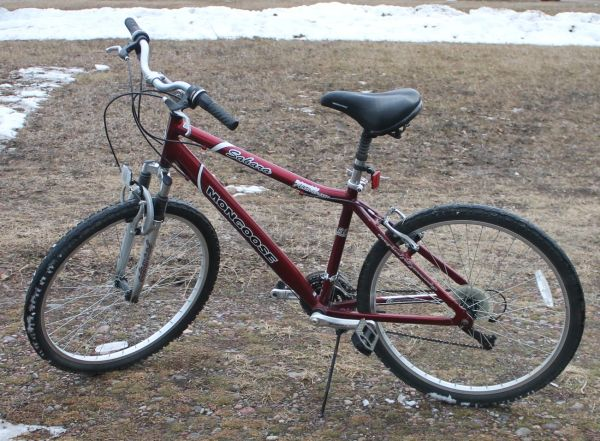 Maroon Mongoose Sahara 21 Speed Ladies Mountain Bike/Bicycle