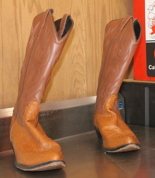 2 Tone Brown Western Cowboy Boots