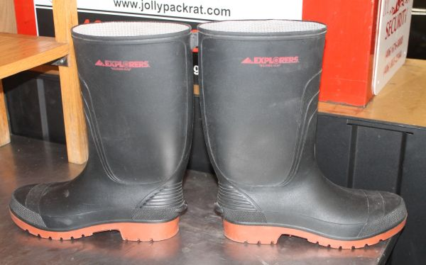 "Explorers ""Weather Gear"" Rubber Boots-Size 11"