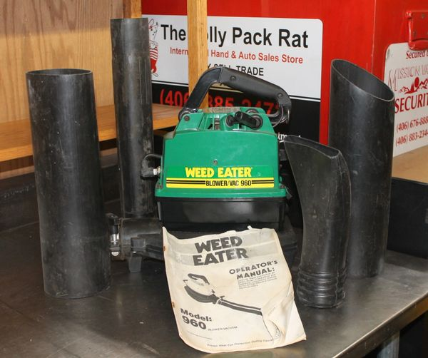 Weed Eater #960 Gas Powered Blower/Vac