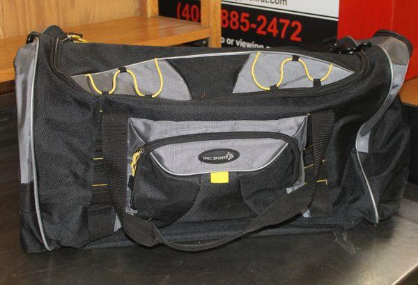 Black TPRC Sport Duffel Bag