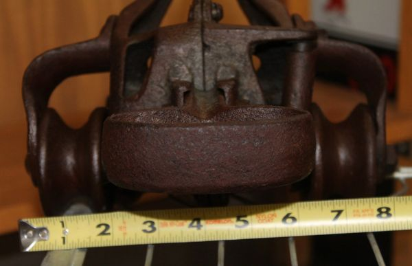 Vintage Double Pulley