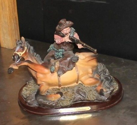 Premier Collection Shooter and Horse Figurine