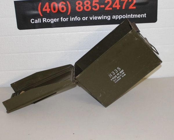 Military N335 Metal Bullet/Ammo Box