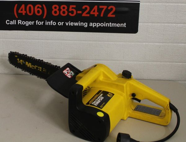 McCullough Electramac EM250 Electric Chainsaw