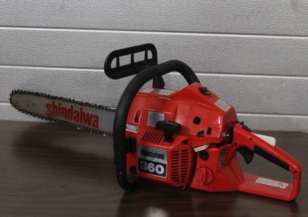 """Vintage Shindawa 360 Chainsaw with 18"""" Bar"""