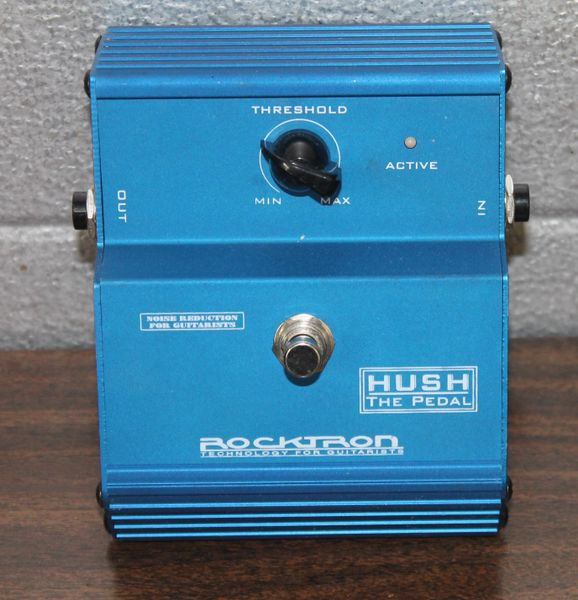 "Rocktron Hush ""The Pedal"" Technology for Guitarists"