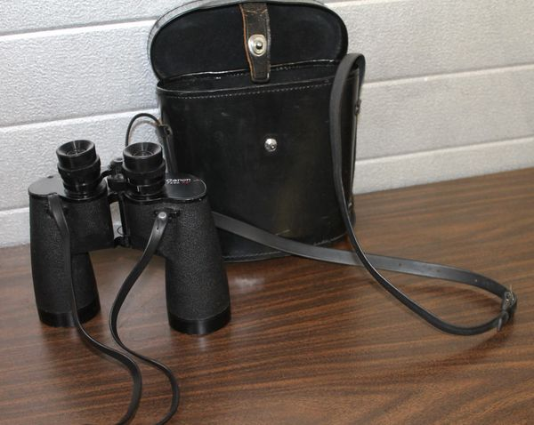 Canon 7 x 50 7.2 Model E15/B104 Coated Binoculars with Case