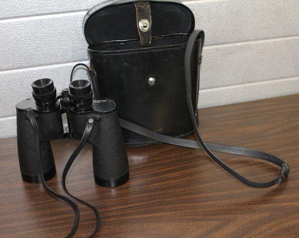 Canon 7 x 50 7.2 Model E15/B104 Coated Binoculars with Case