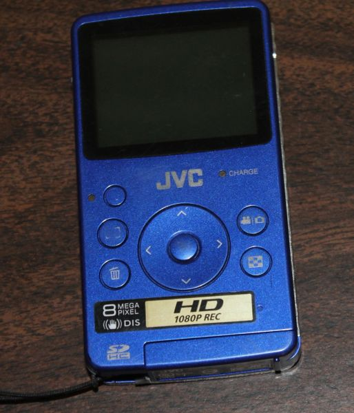 JVC GC-FM1AU HD Memory Video Camera