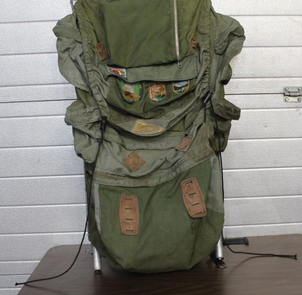 Kelty Military Green External Frame Backpack