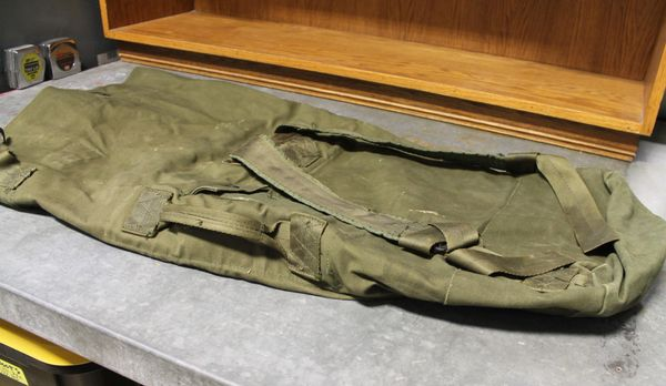 Military Heavy Duty Canvas Duffel Bag/Backpack Type II