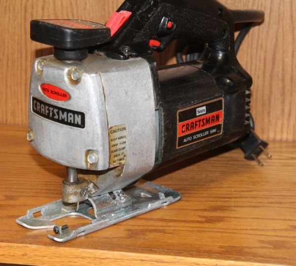 Sears Craftsman Auto Scroller Jig Saw #315.17290
