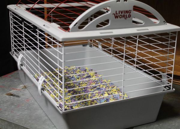 Living World Hamster/Small Animal Cage