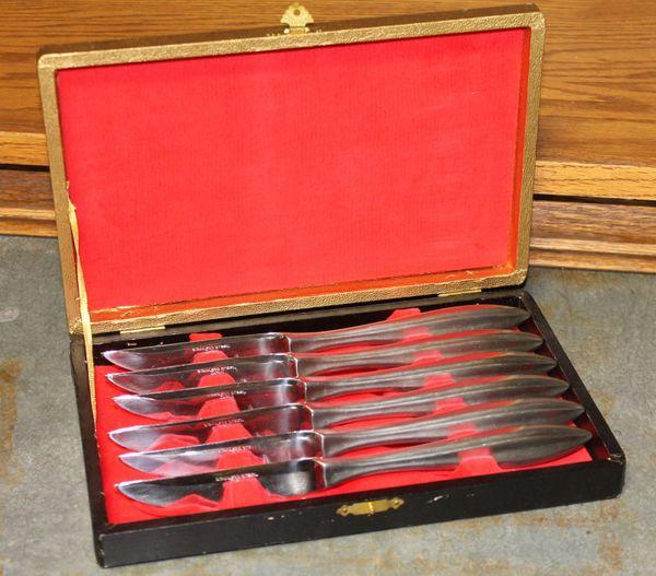 6 Piece Stainless Steel Kitchen/Steak Knife Set