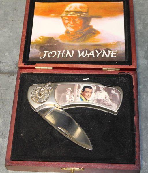 "John Wayne 7"" Stainless Steel Lock Blade"