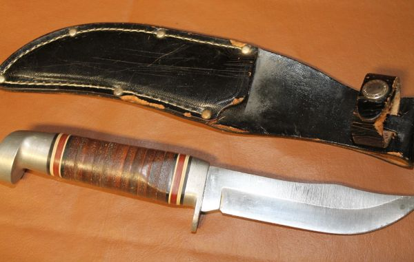 Western #66 Knife and Sheath