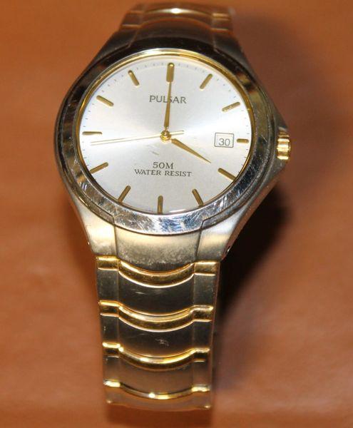 Pulsar VJ32-X043 50 Meter Water Resistant Men's Watch
