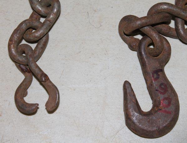 "16 Feet 5/16"" Binder Chain with 1 Hook"