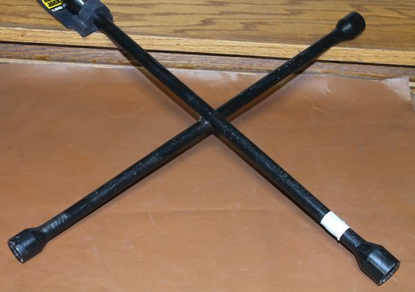 "Torin 20"" 4-Way Lug Wrench"