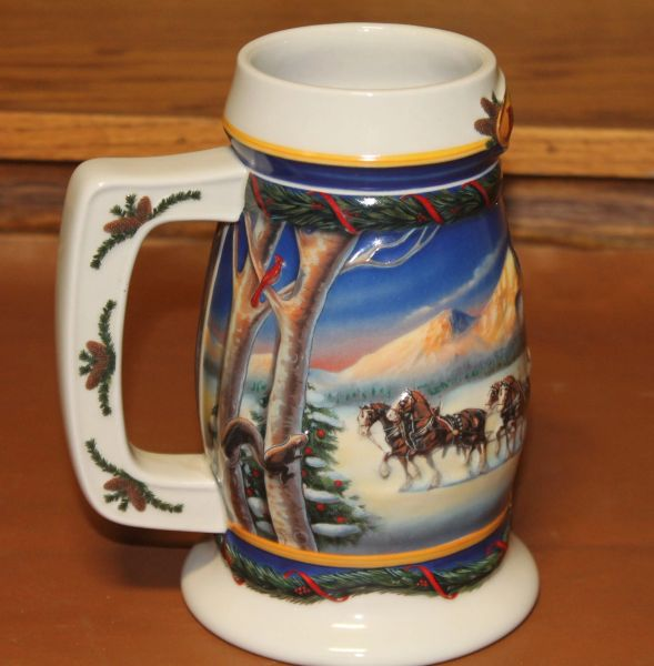 Budweiser CS416 Holiday in the Mountains Mug/Stein