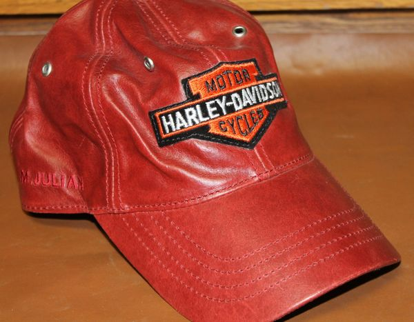 Harley Davidson M.Julian Leather Hat