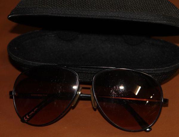 Serengeti 1504 135mm Polarized Sunglasses with Case