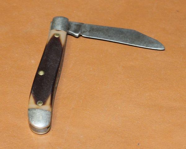 """Vintage Schrade """"OLD Timer"""" 3"""" Single Blade 120T Pocket Knife"""