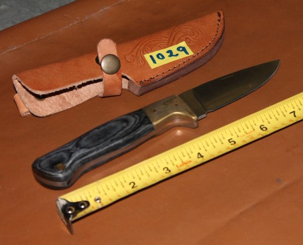 """8""""Knife with Laminated Handle"""