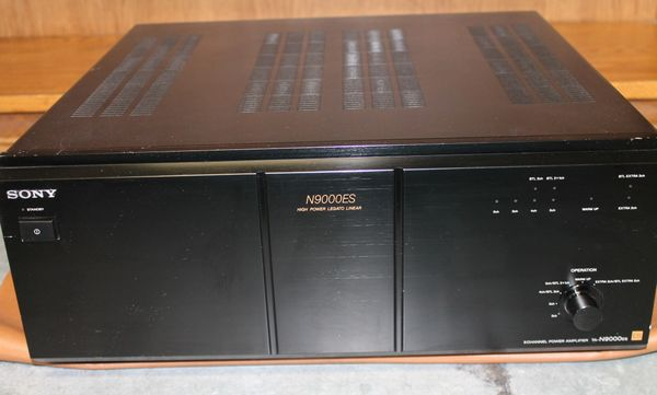 Sony 5 or 2 Channel Power Amplifier N9000ES