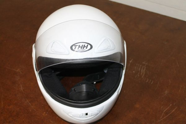 THH Extra Large Full Face Motorcycle Helmet