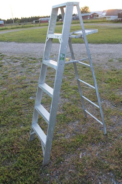 Werner 66'' Tall Commercial Aluminum Ladder
