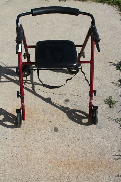 Lightweight Aluminum 4 Wheel Walker