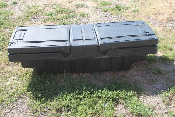Tuff Box Plastic Behind Cab Tool Box With Sliding Tool Tray