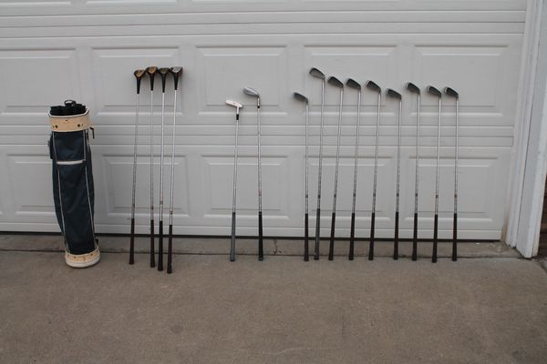 Vintage Spalding Executive Golf Set