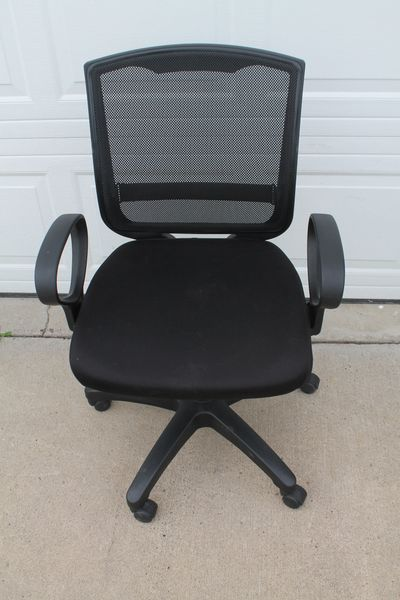 Large Size Desk Chair With Mesh Back