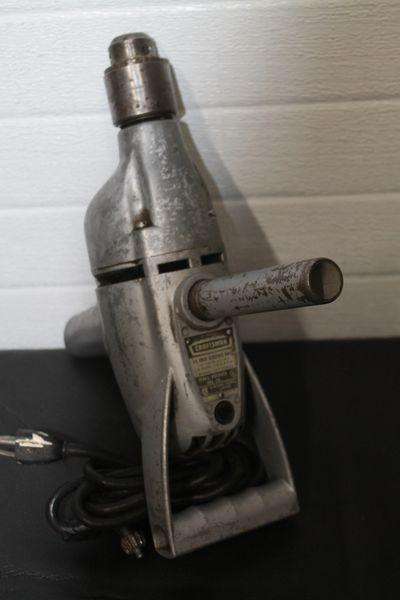 Vintage Craftsman Model 107.25632 1/2'' Drill