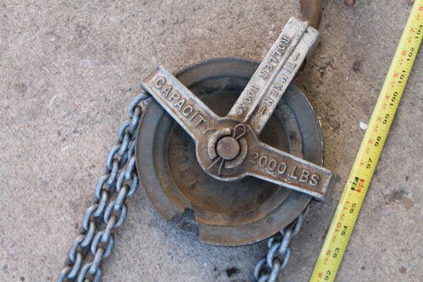 Timken 2 Ton Chain Hoist